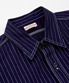 Double Diamond Wabash Stripe Shirt. Zippertravel.com Digital Edition