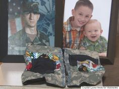 How One Mom Is Using Military Uniforms To Solve A Problem For Kids With Autism