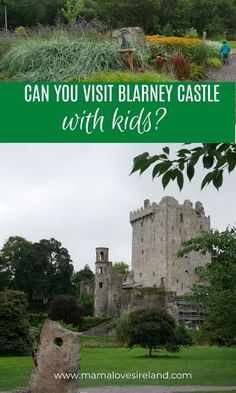 Blarney Castle is on everyone's Ireland bucket list but is it safe to visit with kids? Can kids kiss the Blarney stone and where there is to do with kids in Blarney castle? Find all the answers in this family guide to Blarney castle Ireland With Kids, Love Ireland, Ireland Vacation, Ireland Travel, Kids Kiss, Blarney Stone, Local Moms, Walking In Nature, Great Places
