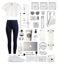 """""""Very White"""" by pialein ❤ liked on Polyvore featuring Neil Barrett, Urbanears, Roxy, Black Apple, Samsung, Fig+Yarrow, NIKE, Happy Plugs, Blanc & Eclare and Home Decorators Collection"""