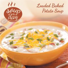 Loaded Baked Potato Soup Recipe from Taste of Home -- shared by Barbara Bleigh, Colonial Heights, Virginia
