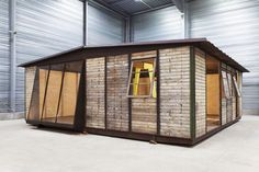 Jean Prouve's Experimental Prefabricated Houses