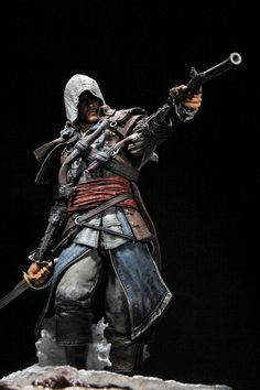 Assassin's Creed IV Black Flag statue