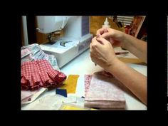 Tutorial: How to make a pleated doll skirt; part 2
