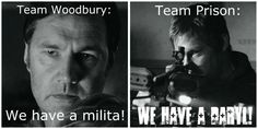 wellll.... technically Team Woodbury has Daryl right now, but I'm sure that'll change in February!