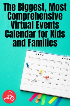 The Biggest Virtual Events Calendar for Kids & Family Online Activities California With Kids, Southern California, Kids Calendar, Event Calendar, San Francisco With Kids, Los Angeles With Kids, Red Tricycle, Family Destinations, Cool Science Experiments