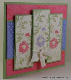 nice idea! Love cards that don't have specific greetings on them...so versatile!