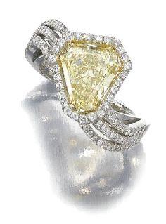 Diamond edge ring
