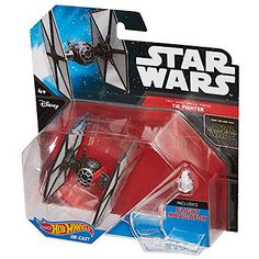 Hot Wheels Star Wars Die Cast First Order Special Forces Tie Fighter Vehicle - The Entertainer - The Entertainer