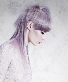 David Corbett Hairdressing Long Grey Hairstyles