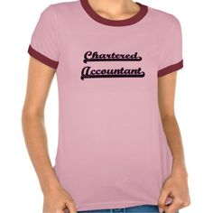 Chartered Accountant Classic Job Design Tee T Shirt, Hoodie Sweatshirt