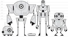robot lineup - for the boston globe