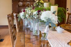 Sweet Meadow, West Georgia Wedding Venue. Bouquets. Photo: Tessa Rice