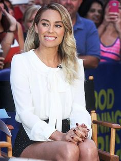 Star Tracks: Monday, September 7, 2015 | CAMERA READY | A lack of reality show drama seems to be doing Lauren Conrad well, as the mogul is all smiles during an appearance on Good Morning America on Monday.