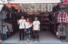 Meet our crew on booth #80 and feel friendly atmosphere! #kickfest2015 #inspired27 #bandung #kickfest