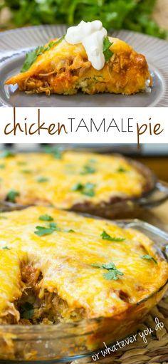 Chicken Tamale Pie