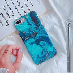 Fashion Abysmal Sea Oil Painting Phone Case For iPhone 6 7 8 Plus X Matte Har - Blue Iphone 8 Case - Ideas of Blue Iphone 8 Case. - Fashion Abysmal Sea Oil Painting Phone Case For iPhone 6 7 8 Plus X Matte Hard Half-wrapped Back Cover Fundas Coque Cheap Iphone 7 Cases, Diy Iphone Case, Hard Phone Cases, Iphone 6 Plus Case, Cute Phone Cases, Iphone Phone Cases, Coque Smartphone, Coque Iphone, Coque Harry Potter