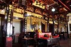 Chinese temple in Kuala Lumpur, Malaysia