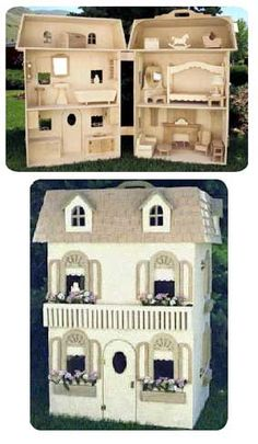 Fashion Doll House Woodworking Plan
