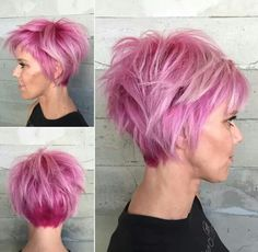 I'm to old to pull off the color, but love the cut!