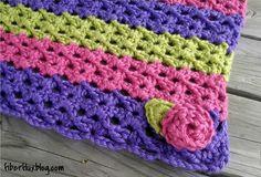 Fiber Flux...Adventures in Stitching: Free Crochet Pattern...Sorbetto Baby Blanket & Play Mat!