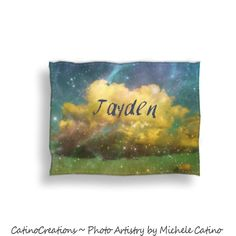 Fleece Blanket Cosmic Clouds Personalized Sky and Clouds Toddler Boy Blanket Soft Fuzzy throw Fluffy Custom Blanket with name Bedroom decor by CatinoCreations on Etsy