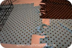 DIY no sew dog crate cover | Reinventing the Ordinary: DIY Doggy Crate Cover