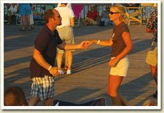 Shag the night away at the Folly Beach Edwin S. Taylor Fishing Pier, where DJ Jim Bowers will be spinning the hottest oldies and beach music.