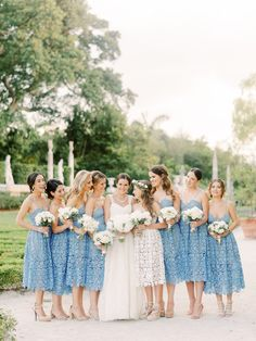 Set in the breathtaking Vizcaya Gardens, the couple planned an ultra chic wedding with the reception set under a massive clear tent. Tent Wedding, Chic Wedding, Wedding Trends, Summer Wedding, Wedding Gowns, Vizcaya Wedding, Glamorous Wedding, Wedding Ideas, Diy Wedding Favors