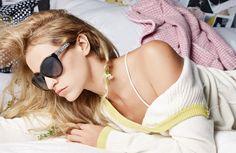 alice dellal chanel eyewear Alice Dellal is the Face of Chanel Eyewears Spring 2014 Campaign