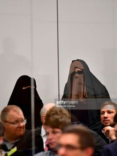 Edna L., mother of Safia S., (R) and another observer are hiding their faces in court for the first day of the trial against Safia S., 16, at the Oberlandesgericht Celle courthouse on October 20, 2016 in Celle, Germany. Safia S. is accused of stabbing a policeman with a knife in the name of the Islamic State (IS) at Hanover main railway station in February of this year. She reportedly became radicalized at the Deutschsprachiger Islamkreis e.V. mosque in Hanover in a part of the city with a…