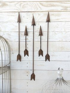 Metal Arrow Home Decor Arrow Wall Art Native by CamillaCotton