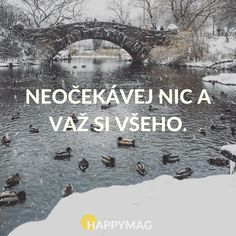 proto neplánuju a na nic se netěším Yoga Quotes, Me Quotes, Motivational Quotes, Inspirational Quotes, Useful Life Hacks, English Quotes, Carpe Diem, Motto, Quotations