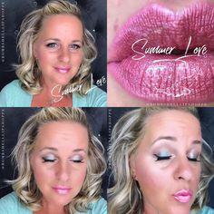 Lipsense Glossy Gloss, Makesense Foundation, Senegence International, Drew Carey, Lip Sense, Glossier Gloss, Waterproof Makeup, Rose Gold Glitter, Makeup Goals