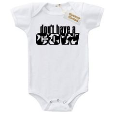 Don't have a cow baby vest from www.cheekychapsclothing.co.uk