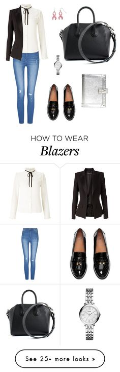 """""""Untitled #325"""" by mariafilomena471 on Polyvore featuring Lipsy, Givenchy, Alexandre Vauthier, FOSSIL and Louis Vuitton"""
