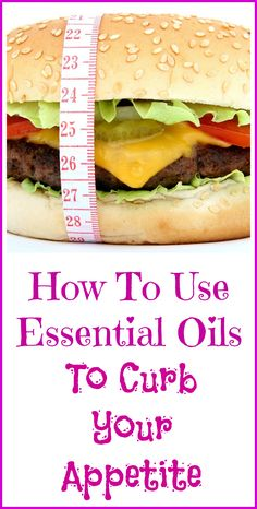 How essential oils can be used to curb your appetite and potentially help you lose weight.