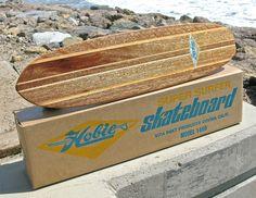 Rare Vintage 1960s Hobie Super Surfer Skateboard in a Box! Sidewalk, Surfboard,