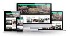 Fullby - Free Responsive Grid Wordpress Theme