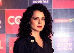 Kangna Ranaut Curly Hairstyle With Naturally Curly Hair-0