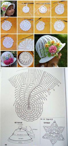 Panama Hat Crochet Pattern