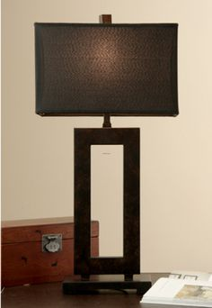 138 best table lamps images on pinterest table lamps buffet lamps mocha metal table lamp with dark shade overstock shopping great deals on table lamps aloadofball Choice Image