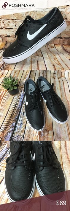 Nike Zoom SB Stefan Janoski Black Sneakers 616490 Brand new, never worn. Please see pics for more details (: Nike Shoes Sneakers