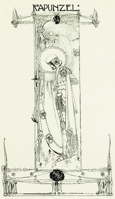 Rapunzel - The defence of Guenevere, and other poems by William Morris, 1904
