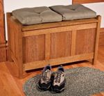 free plans woodworking resource from Fine Woodworking - benches,arts and crafts,indoors,storage,wooden,furniture,DIY instructions,free woodworking plans,do it yourself,woodworkers,how to build