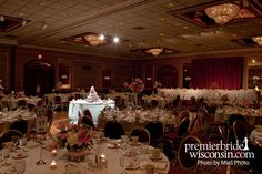 Milwaukee Reception sites 101/Ballrooms/ Wedding Reception at the Country Springs Hotel in Pewaukee, WI