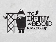 Dribbble - To Infinity & Beyond by Alexander C. Sprungle  Side note.  ClaIm your greatness.