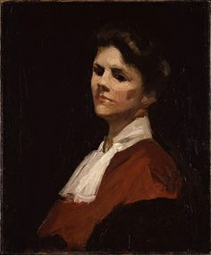Edward Hopper - Portrait of Hettie Duryea Meade, ca. 1905