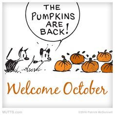 Woohoo! Who loves October as much as we do?
