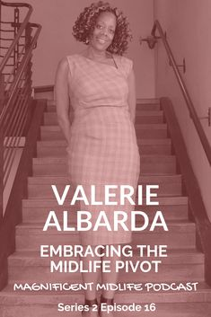 Meet the incredibly inspiring Valerie Albarda, founder of Midlife-A-Go-Go and podcast host. She's on a mission to inspire women in midlife to be their very best. She wants us to enjoy the fabulous midlife and skip the crisis. Work Looks, Adult Children, Life Advice, Menopause, Feminism, Pin Up, Meet, Inspire, Celebrities